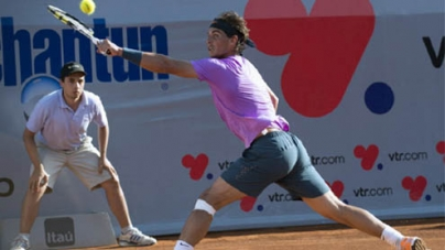 Nadal triumphs in singles return