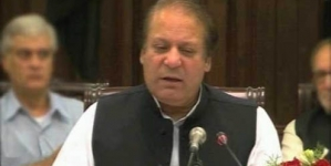 Naudero: Nawaz vows to end 'Dako Raj'