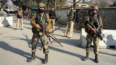 Nine soldiers martyred in militant attack on army camp