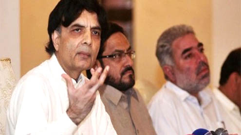 Opp agrees on two former SC judges as caretaker PM: Nisar
