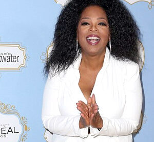 Oprah Winfrey reaches new heights with huge bouffant hair at Essence awards luncheon