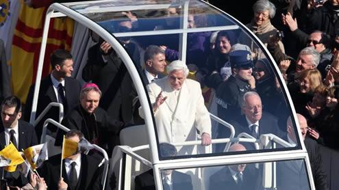 Pope last Audience