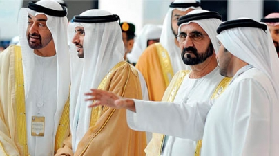 Power show by UAE forces