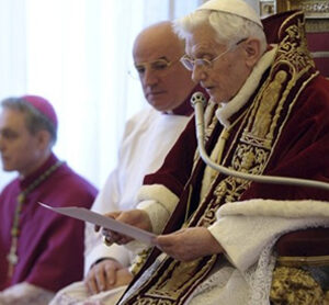 Too tired to go on, Pope Benedict resigns