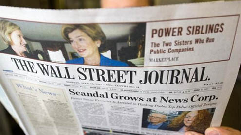 Wall Street Journal 'also victim of China hacking attack'
