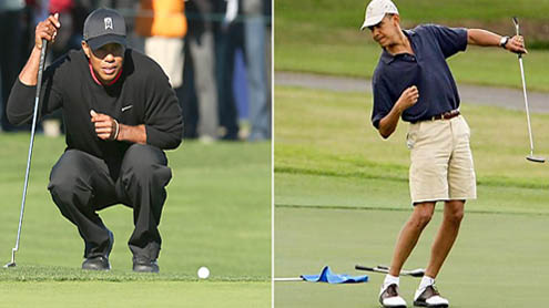 What Did Obama and Tiger Woods Talk About During Their Top Secret Golf Game?