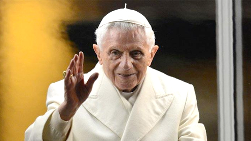 World leaders hail pope Benedict's leadership