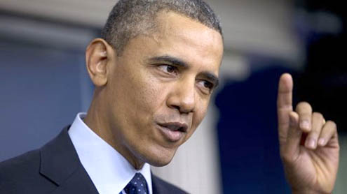 Budget Fight Becomes President Obama's Big Gamble