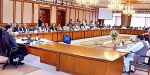 Farewell meeting of cabinet today
