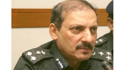 Ghulam Shabbir given additional charge of IGP Sindh