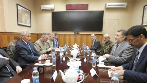High Security, Tensions Mar Hagel's Afghan Visit