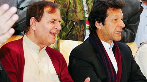 Javed Hashmi Imran Khan