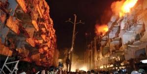 Karachi bleeds and burns