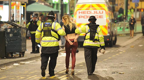 Late night revellers arrest in Cardiff after Six Nations victory celebration