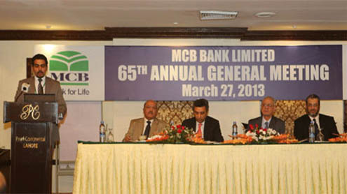 MCB Bank's profit-after-tax rises 8 percent to Rs 20.94bn