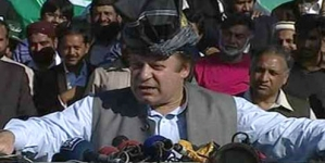 Nawaz Sharif begins election campaign from Mansehra