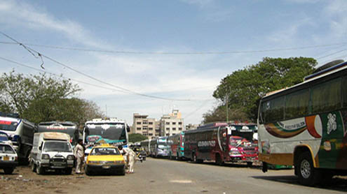 No action in sight against illegal bus terminals in city