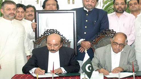 PPP, MQM appoint Justice Alvi as caretaker CM