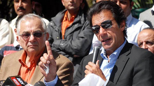 PTI tickets not for tax evaders, bank defaulters: Imran