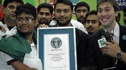 Pakistan Create Six New Guinness World Records