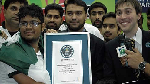 Pakistan Create Six New Guinness World Records