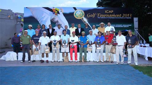 Sardar Murad  triumphs in 2nd ICAP  Golf Tournnament