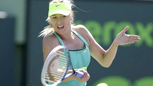 Sharapova reaches semi-finals Sony Open in Miami