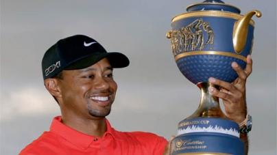 Tiger captures crown