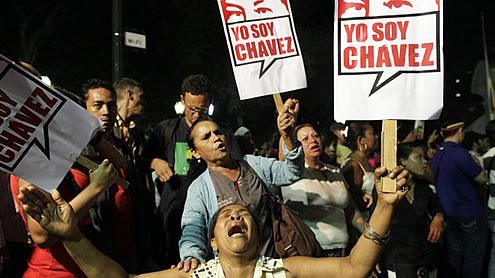 Venezuela's Chavez Dies, Officials call for Unity