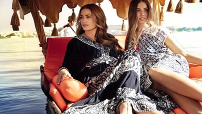 Yasmin Le Bon looks half of her age while modelling with daughter Amber