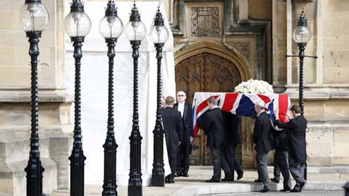 Britain's Iron Lady to be buried with full pomp