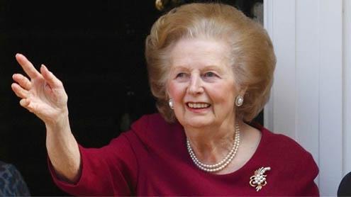 Britain's iron lady Margaret Thatcher dead