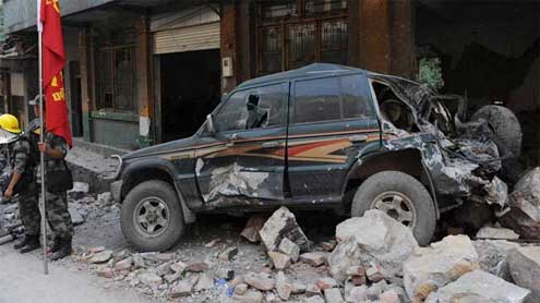 Death toll from China quake jumps to 72: state media