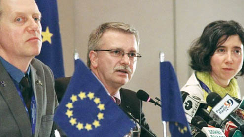EU won't monitor polls in Balochistan, Tribal Areas