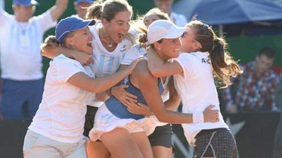 Fed Cup  Great Britain lose 3-1 Argentina