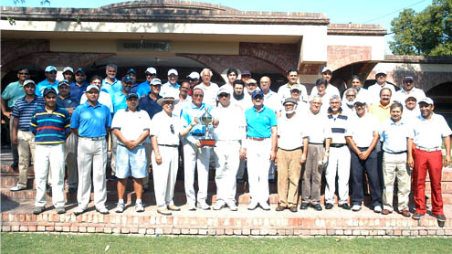 Gymkhana wins Inter Club Golf