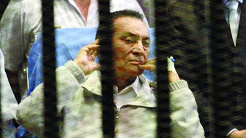 Hosni Mubarak ordered back to prison