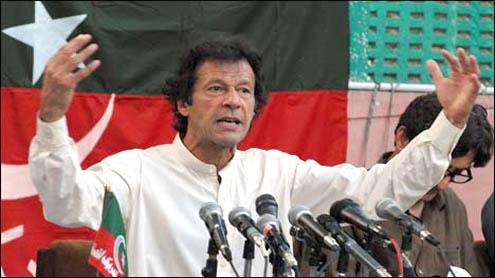 Imran Khan to vie for five NA seats