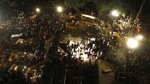 India building collapse near Mumbai kills 34