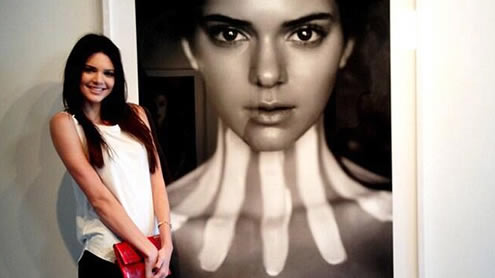 Kendall Jenner on her quest to become a Victoria's Secret Model