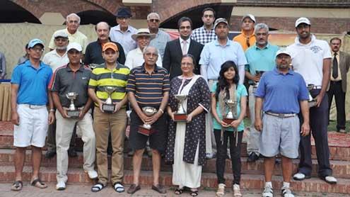Mohsin wins gross trophy in Ashraf Sugar Golf