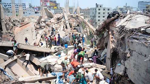 bodies found at Bangladesh factory