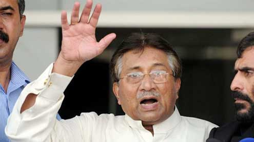 Musharraf out of election race