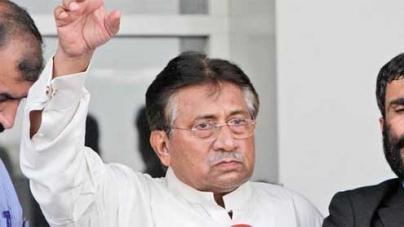 Musharraf surrenders to authorities; residence declared sub-jail