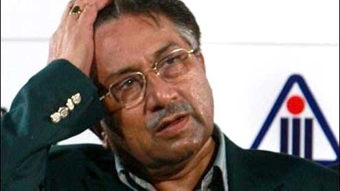Musharraf taken into custody