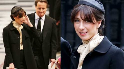 PM's wife gets teased over her 'air hostess' look for the Funeral
