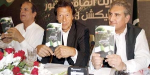 PTI unveils 12-point election manifesto