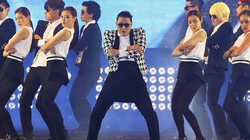 Psy's 'Gentleman' video smashes YouTube records