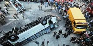 Rio de Janeiro bus in deadly viaduct fall