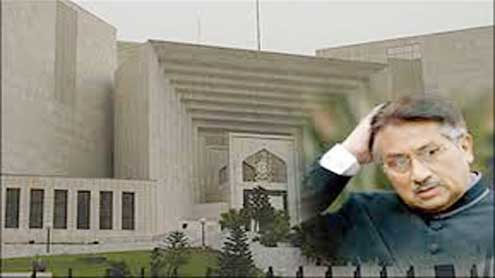SC to hear high treason petition against Musharraf today